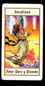 Carta Serafín del amor puro y elevado