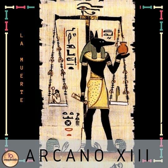 Tarot Egipcio - Arcano 13