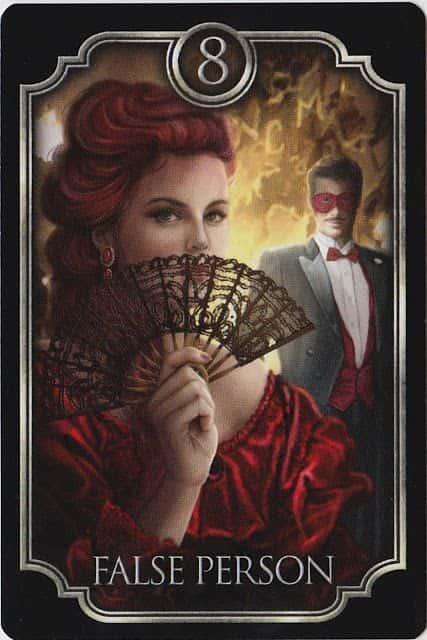 Tarot Gitano - La Persona Falsa