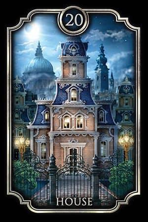 Tarot Gitano - La Casa
