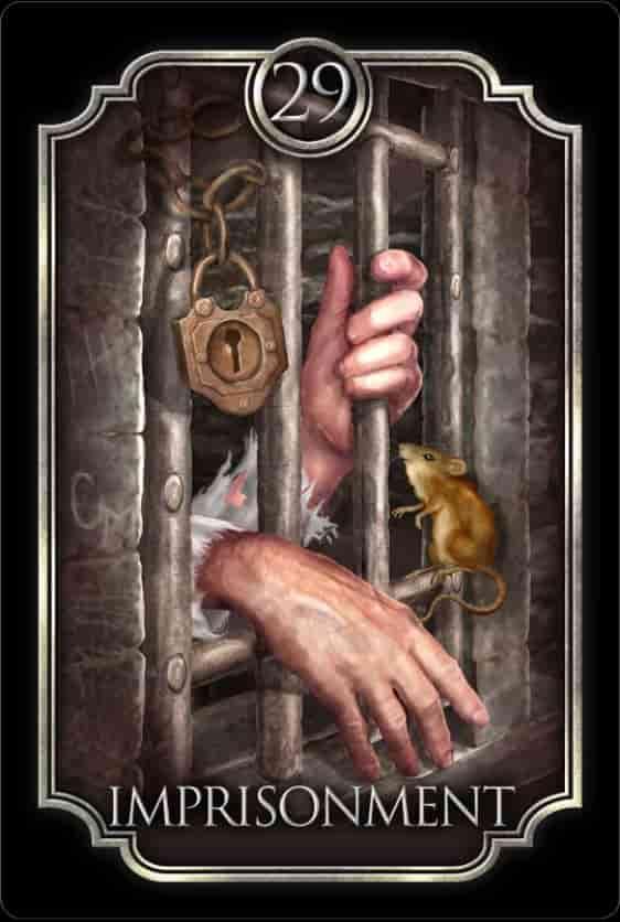 Tarot Gitano - La Prision