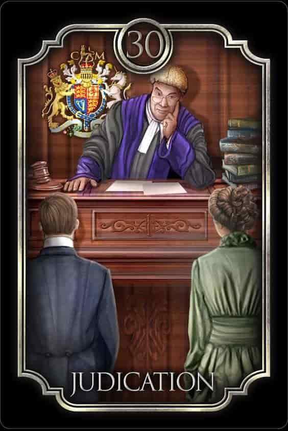 Tarot Gitano - El Juez