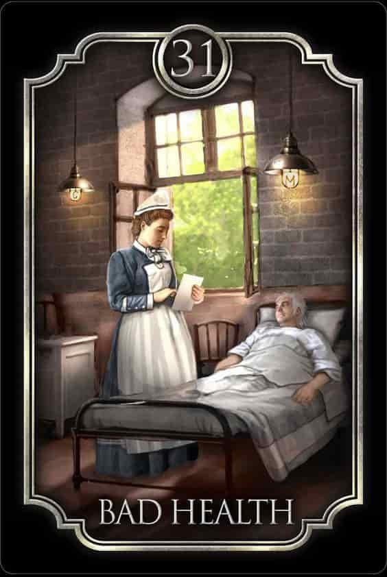 Tarot Gitano - La Enfermedad
