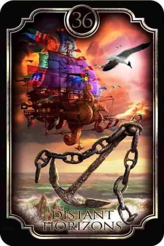 Tarot Gitano - El Ancla