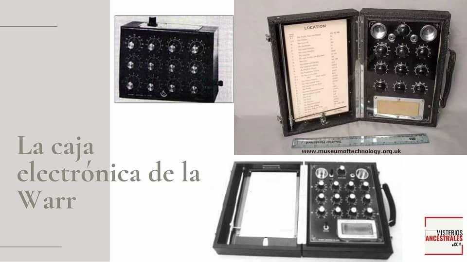 La caja electrónica de la Warr