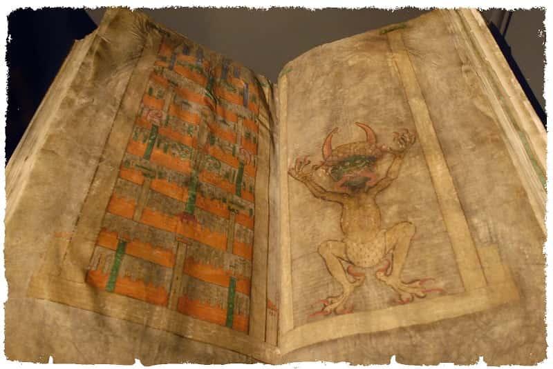 Codex Gigas- Imagen del Diablo