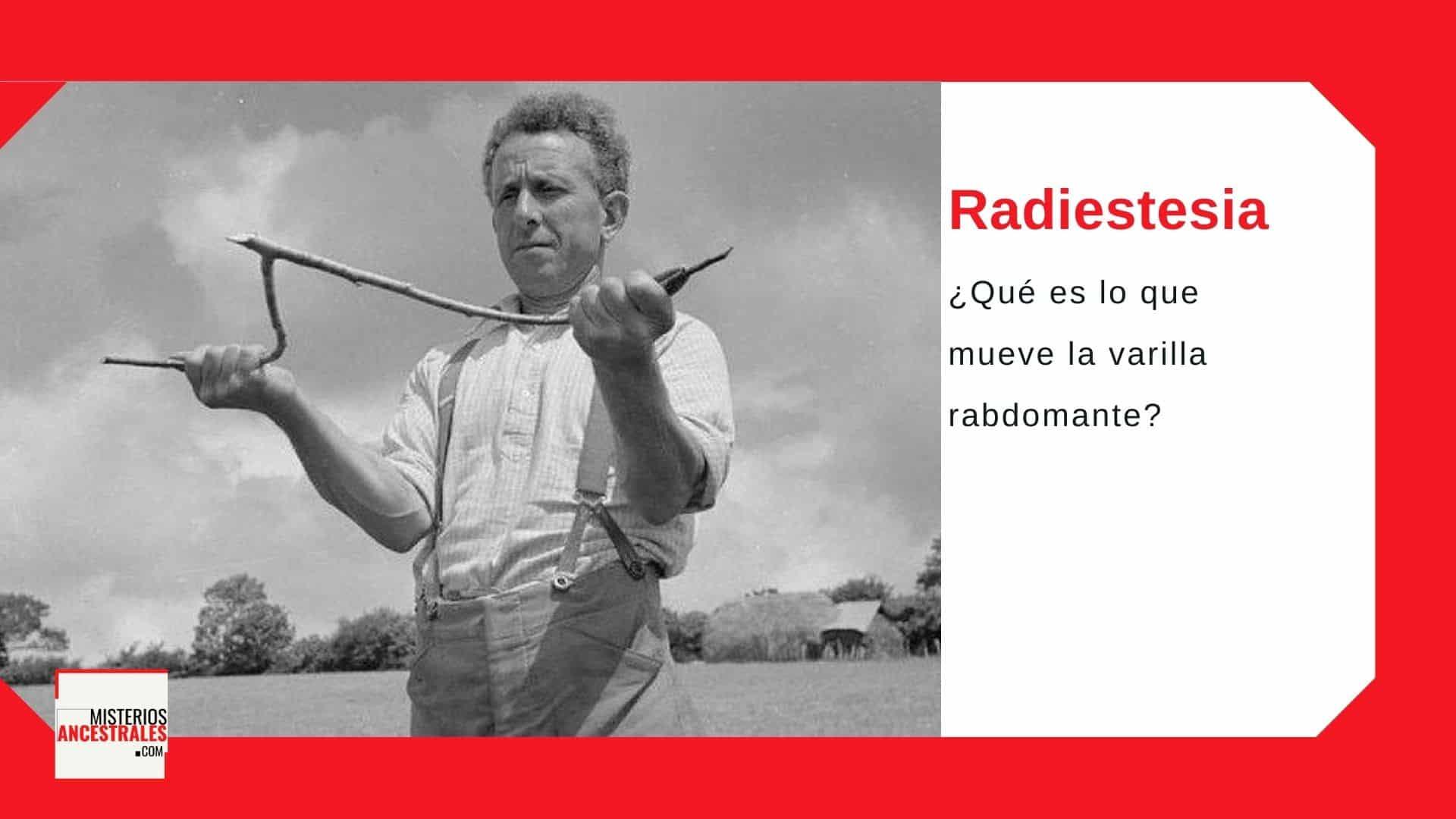 radiestesia varillas