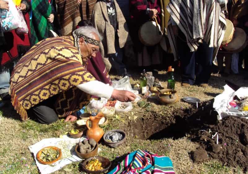Festejo a la Pachamama